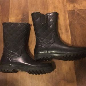 Sperry rubber boots size 12